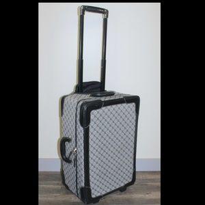 RLL Jacquard Signature Rolling Garment Bag Luggage